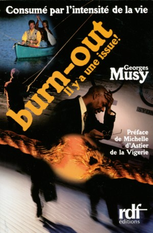 Illustration: Consumé par l'intensité de la vie – BURN-OUT, il y a une issue!