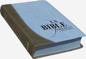 Illustration: La Bible Femme à Son Écoute FASE – Couverture fibro couleur bleu et taupe