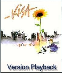 Plus qu'un r�ve - Playback - VISA