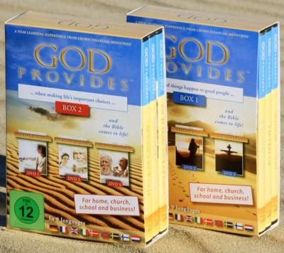 Illustration: God Provides – 'Dieu pourvoit' BOX N°2  – 3 films sur DVD guides inclus