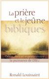 Illustration: La prière et le jeûne bibliques