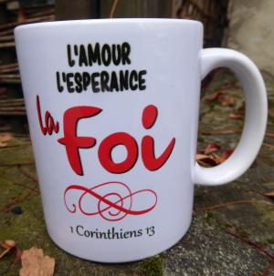 Illustration: La Foi, l'amour l'Esperance ... 1 Cor.13
